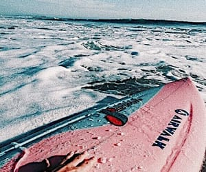pink, surf, and teal image