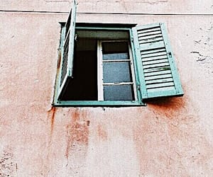pink, teal, and window image