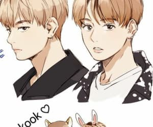 fanart, v, and bts image