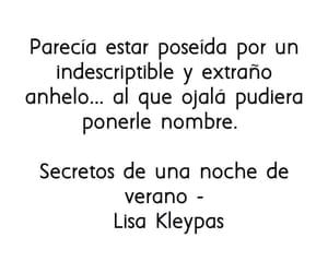 frases, lisa kleypas, and anhelo image