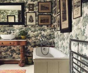 bath, bathroom, and home decor image
