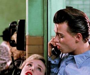 johnny depp, gif, and cry baby image