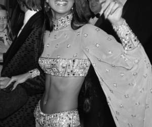 70s, black and white, and fashion image