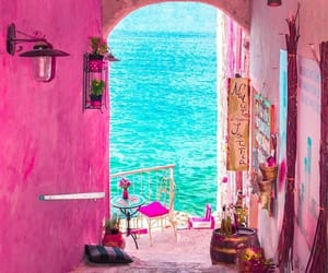 pink, travel, and Croatia image