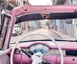 car, decor, and pink image