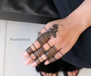 threads, beauty and fashion ideas, and mehndi ideas image
