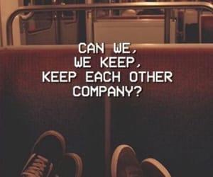 close, company, and love image