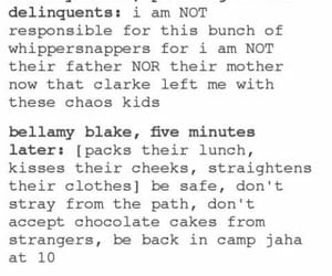 bellamy, funny, and delinquents image