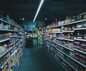 night and store image