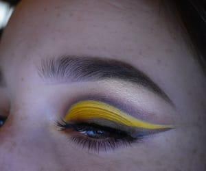 makeup art, makeup artist, and yellow image