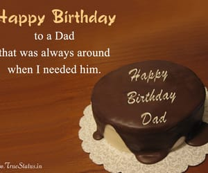 birthday, happy birthday dad, and happy birthday father image