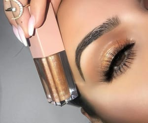 meriem, makeup by meriem, and beauty by meriem image
