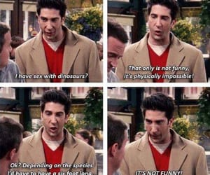 funny, friends tv show, and friends image