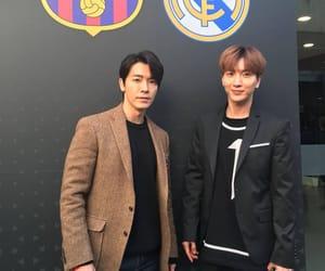 donghae, Leeteuk, and suju image