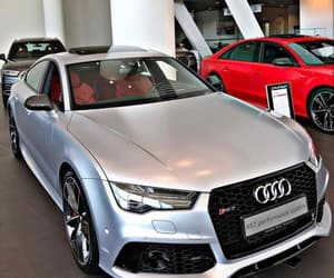 audi, grey, and rs7 image