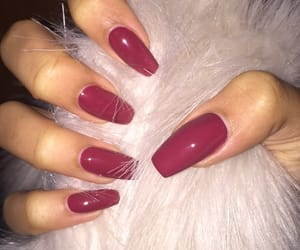 nails, fashion, and goals image