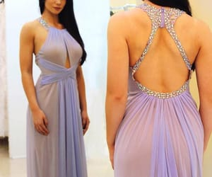 evening dress, special occasion dresses, and lunss image