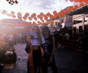 chinatown, los angeles, and girls image