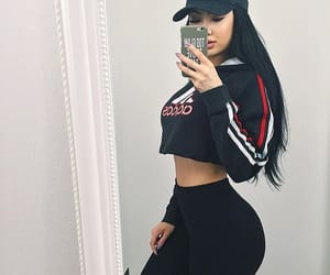 adidas, body, and outfit image