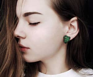 etsy, hypoallergenic studs, and tropical earrings image
