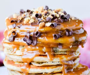 chocolate, pancakes, and sweets image