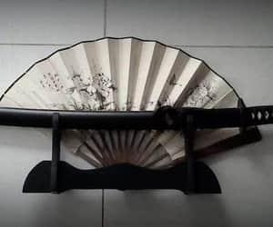 black, katana, and tokyo image