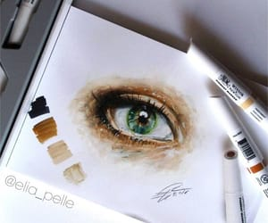 amazing, art, and eye image