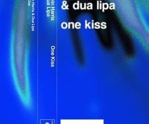 album art, dua lipa, and blue image