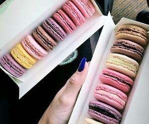 french, laduree, and macarons image