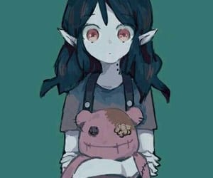 art, marceline, and adventure time image