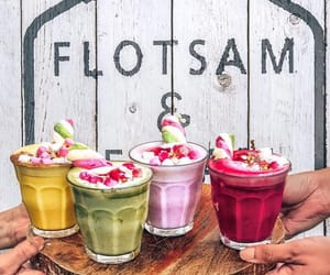 drinks, smoothies, and yummy image