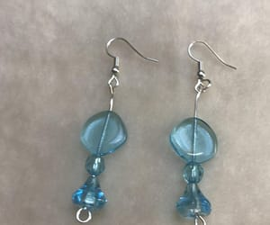 handmade earrings, present for her, and gift for girlfriend image