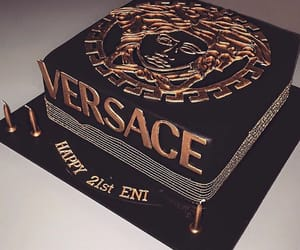 cake and Versace image