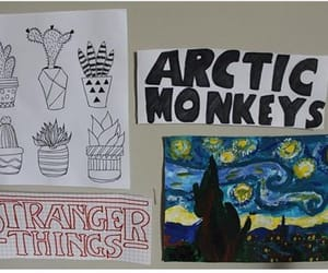 dibujos, articmonkeys, and picasso image
