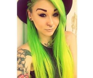 colored hair, hair, and beautiful hair image