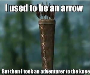 adventurer, funny, and skyrim image