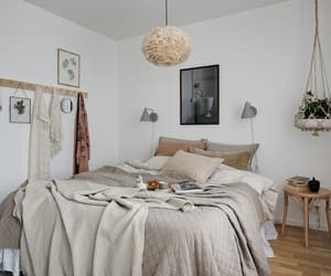 bedroom, living, and home image