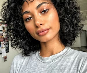 Afro, beautiful, and brown image