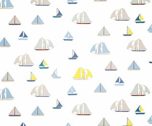 background, boats, and patterns image