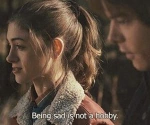 stranger things, quotes, and sad image