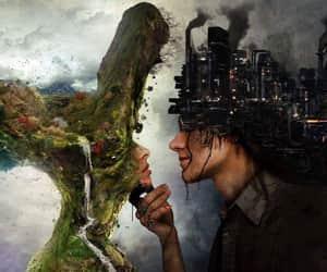 nature, art, and city image