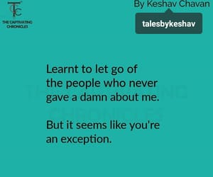 let go, you, and exception image