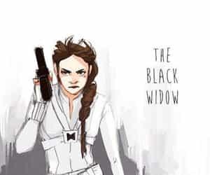 black widow, natasha romanoff, and Marvel image