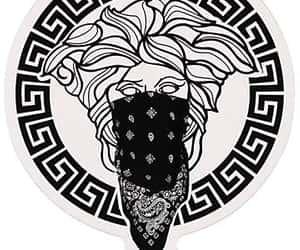 black, brand, and girl image