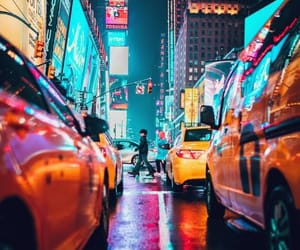 city, colors, and dreamy image