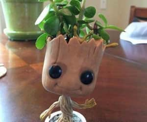 green, groot, and cute image