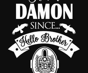 damon, vampire, and tvd image