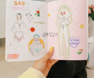 drawing, illustration, and journal image