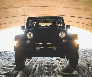 awesome, beach, and jeep image
