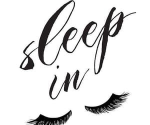 lashes, sleep, and love image
